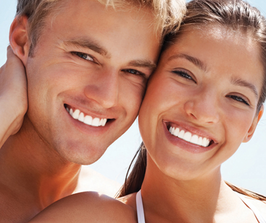 Friends Smiling - Teeth Whitening